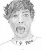 Louis Tomlinson-1D by HannahLouLou