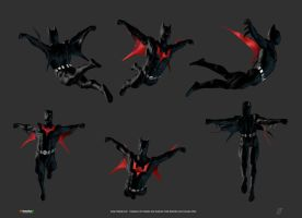Batman Beyond Fly by patokali