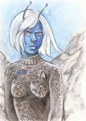 Traditional Commission- Tarah ACEO by Lilith-the-5th