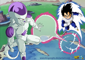 I am a Super Saiyan Frieza by kingvegito
