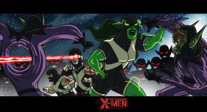 The Uncanny X-Men - The Skrull Wars by tnperkins