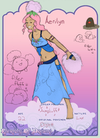 EoD application: Aerilyn by CheruCheriPie