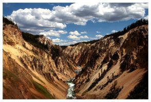 Grand Canyon of Yellowstone by leocolgan