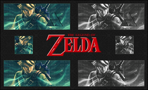 The Legend of Zelda Signature by Hura134