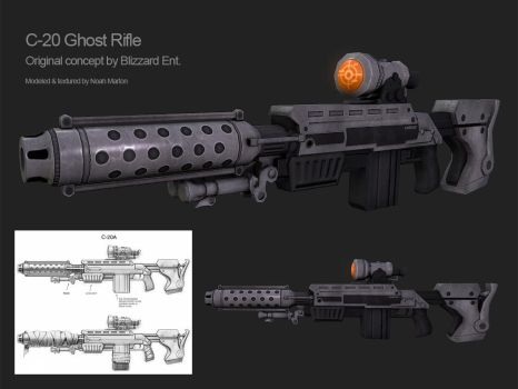 C-20A Ghost Rifle by Cydel