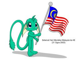 Malaysia's National Day by MarwanGreenCritter