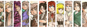 Bookmarks #5 by Keed-Kat