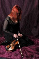 The violinist 8 by Meltys-stock