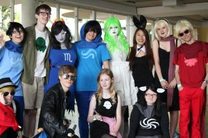 Be the homestuck cosplayers by MrOrangeCreamsicles