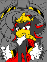 King Shadow colored by shadowthehedgehog109