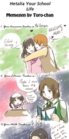 Your - Hetalia - School Life Meme by Arisu95
