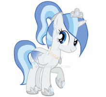 Princess Snowblossom Vector Request by Kaiilu