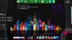 Rainmeter Theme by Zephora