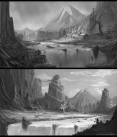 Plateau Concepts by BABAGANOOSH99