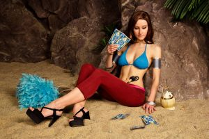 Cana Alberona - Fairy Tail by mchechenev
