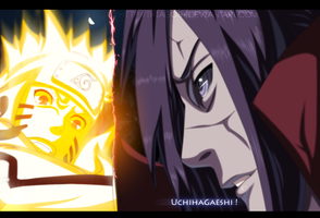 Epic battle - Madara vs Naruto - Naruto #601 by iThiago