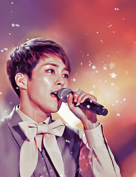Xiumin // For You by bubble-min