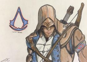 Connor Kenway by Misisto