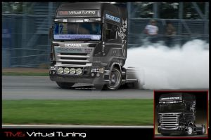 Scania Truck Racing by TMSVirtualTuning