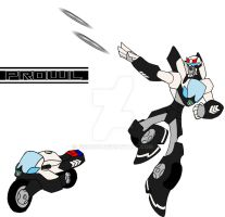 TF: Animated, Prowl by Fishbug