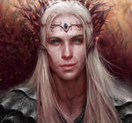 Thranduil Portrait by Jay-Carpenter