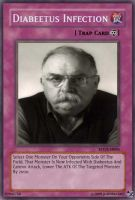 Wilford Brimley Yugioh Card by JOHNRKO007
