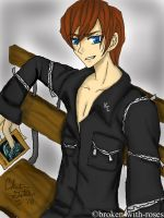 Seto Kaiba by broken-with-roses
