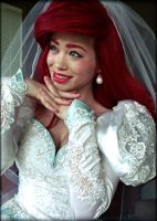ariel's wedding dress cosplay by mayumi-loves-sora