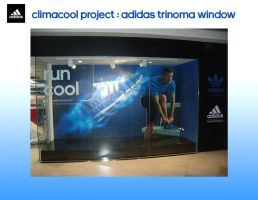 climacool Trinoma window by rolandD2nd