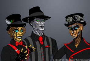 Steam Powered Giraffe by Djadee19