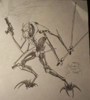 My Cartoon Grievous by SizzyBubbles