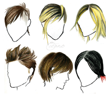 J's hair study by firexatxwill