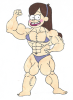 Muscle Mabel Pines by TheFranksterChannel