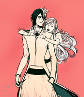 Ulquihime Valentines day by Astranya