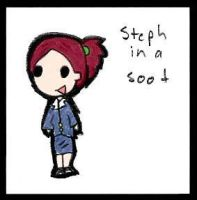 Steph In A Soot -colour'd by jsparrow