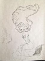 Ariel From The Little Mermaid by keekeeDUBDUB