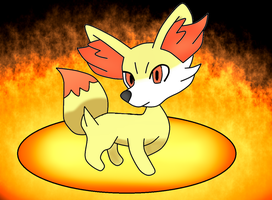 Fennekin by PhoenixWulf