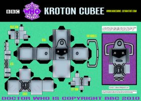Doctor Who - Kroton Cubee by mikedaws