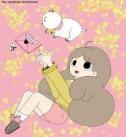 Bee and PuppyCat by aracelli-nyan