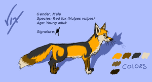 Vix reference by Vixthefox