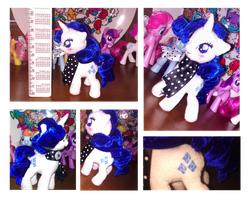 Rarity plush. by Geexy-Thingie