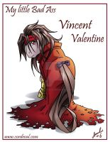Vincent Valentine My Little Bad Ass by Amelie-ami-chan