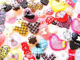 Kawaii Cabochons MIX DecoSweets by souzoucreations