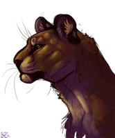 Lion by ThatCatUpstairs