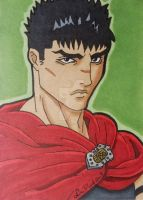 Guts ACEO card by LadyNin-Chan