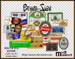 beerbrandsign by ARONEVE