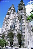 Tours Cathedral by ShlomitMessica