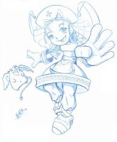 Asumy 2 blue pencil by alexss