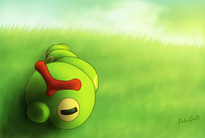 010 Caterpie by PokeGirl5