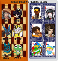 Chess vs Cards meme by Greasy-LucarioYun